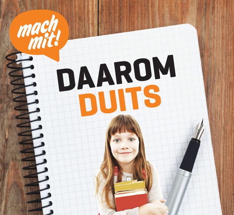 Brochures 'Daarom Duits' voor docenten