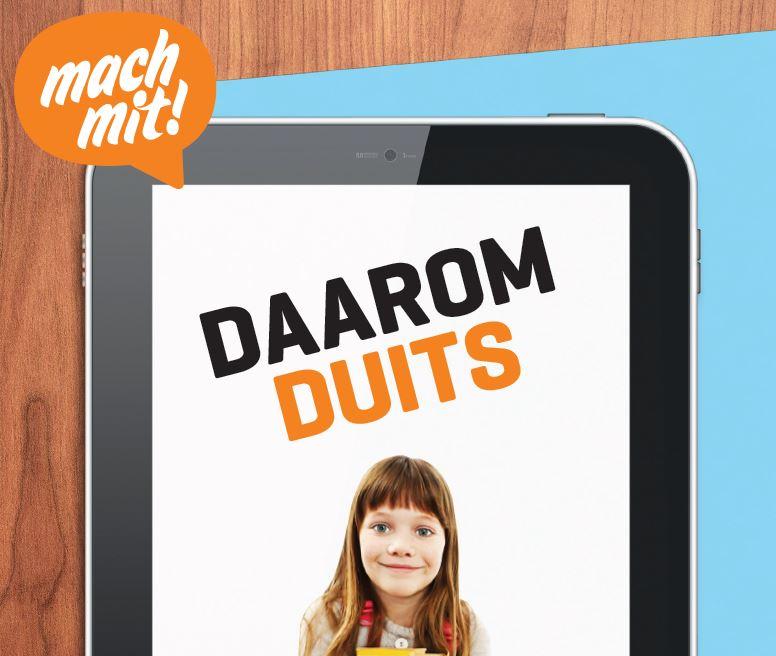 Brochures 'Daarom Duits' voor ouders