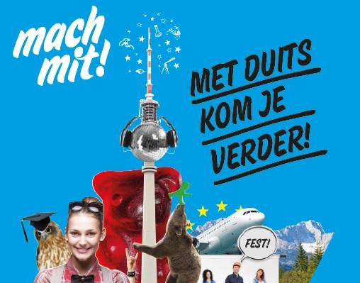 Brochures 'Daarom Duits' voor scholieren