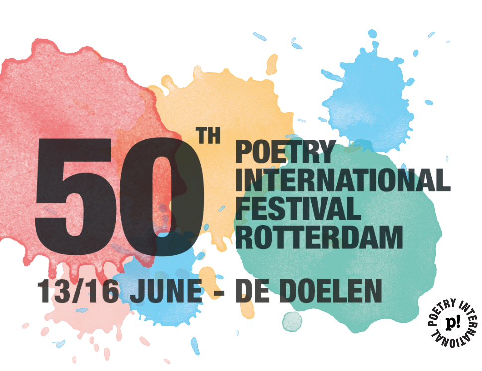 50th Poetry International Festival Rotterdam