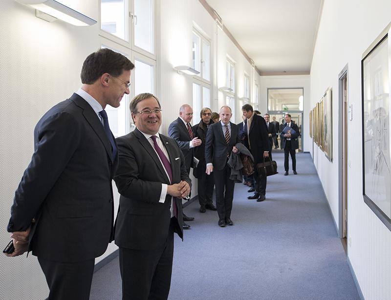 Rutte In Noordrijn-Westfalen Voor Betere Samenwerking