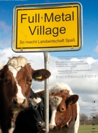 Poster van de documentaire 'Full Metal Village'