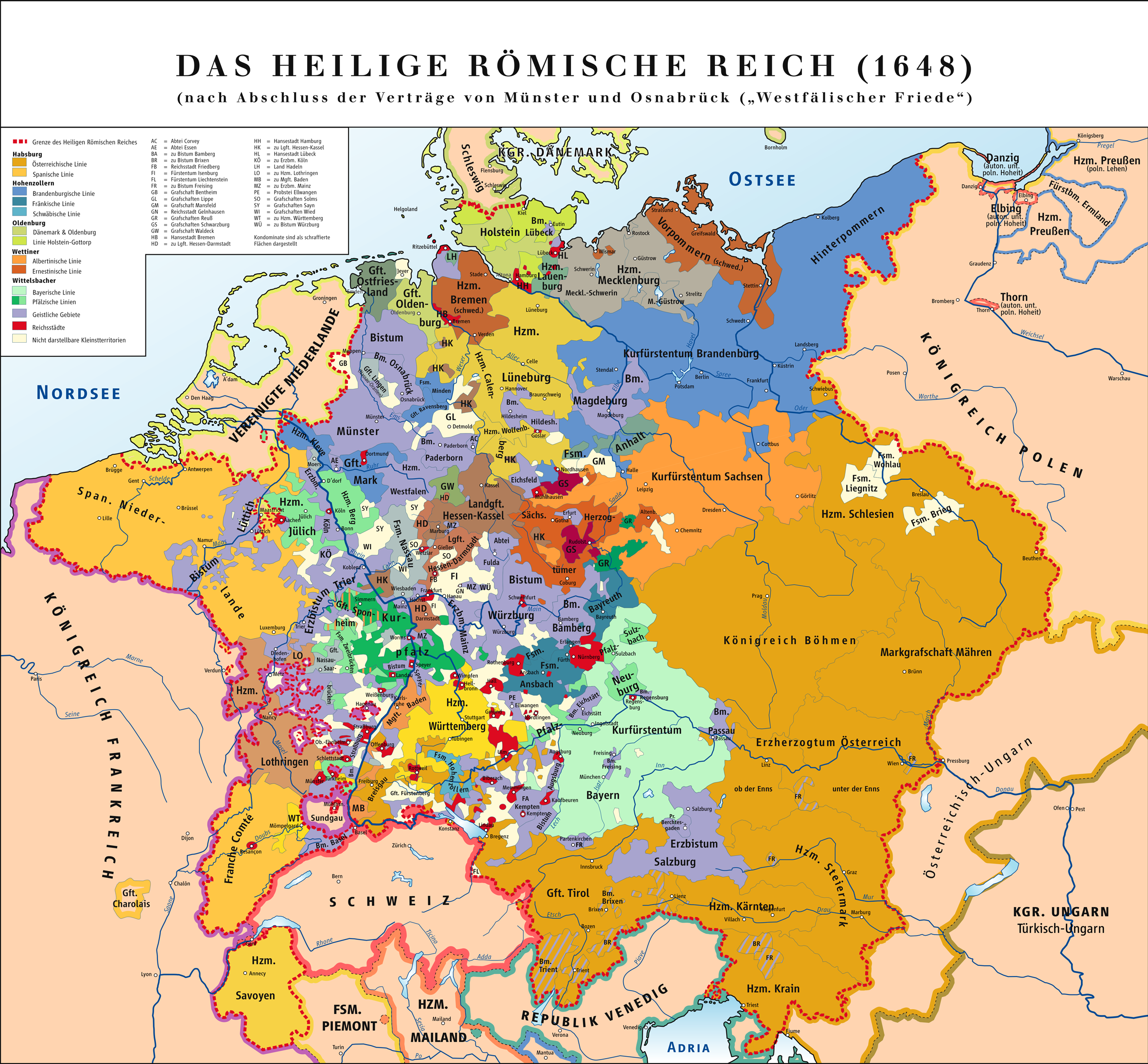 Holy Roman Empire Map 1000.Historical Maps Of The Holy Roman Empire
